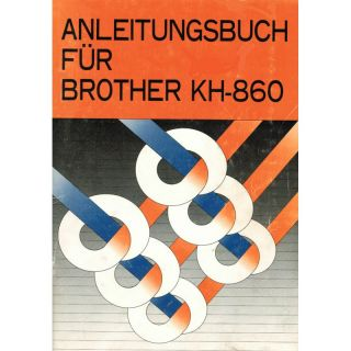 Anleitungsbuch Brother KH-860