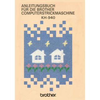 Anleitungsbuch Brother KH-940